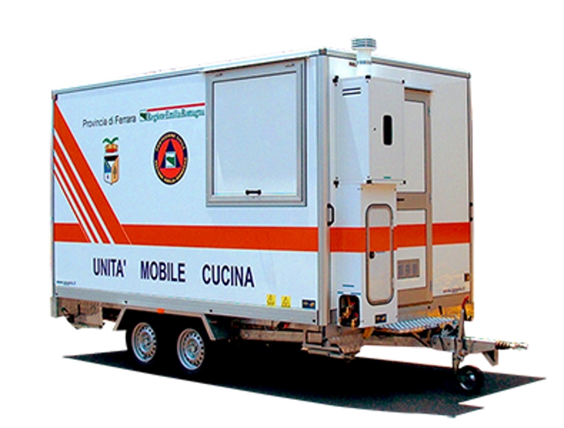 Cucine mobili per street food e allestimenti speciali for Mobili per cucine
