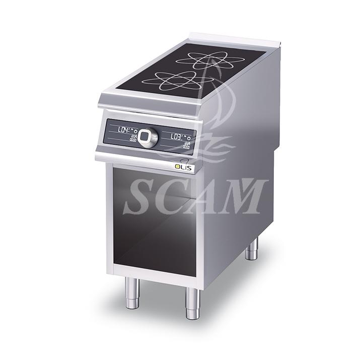 Cucine friggitrici e griglie in acciaio per cottura professionale scaminox - Cucina a induzione ...