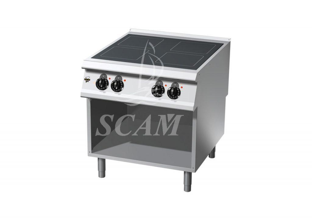 Cucine friggitrici e griglie in acciaio per cottura - Cucine in vetroceramica ...