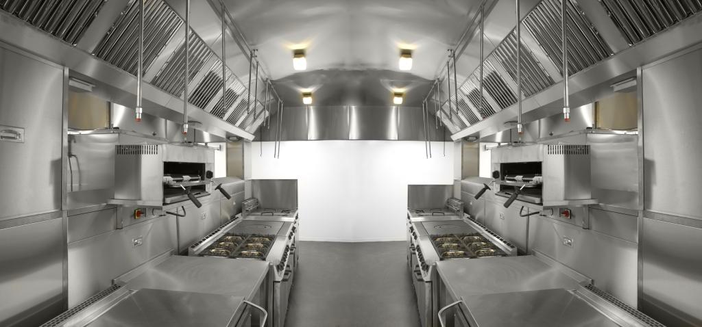 Interno cucina su rimorchio