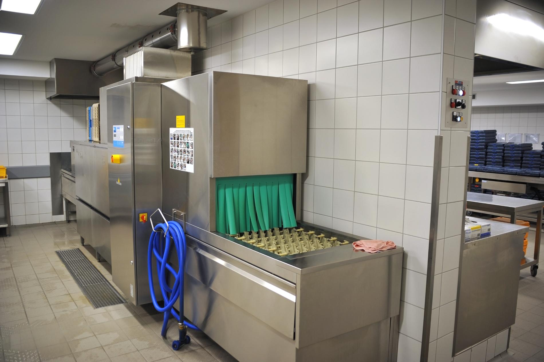 Lavaggio industriale tre