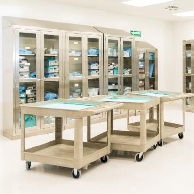 Mobili in acciaio inox per uso sanitario ospedali for Mobili cucine professionali