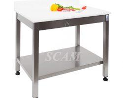 Tavolo aperto piano polietilene con alzatina