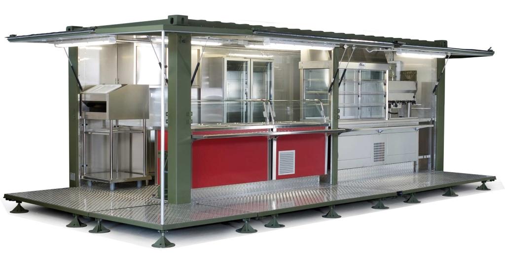 Cucina su container