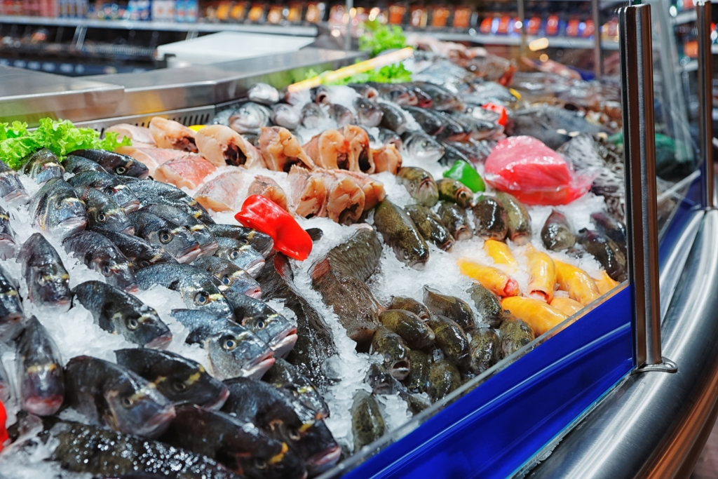 Pescheria supermercato