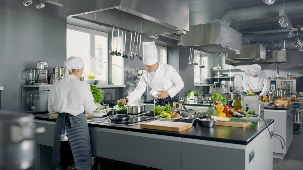 Cucina professionale ristorante