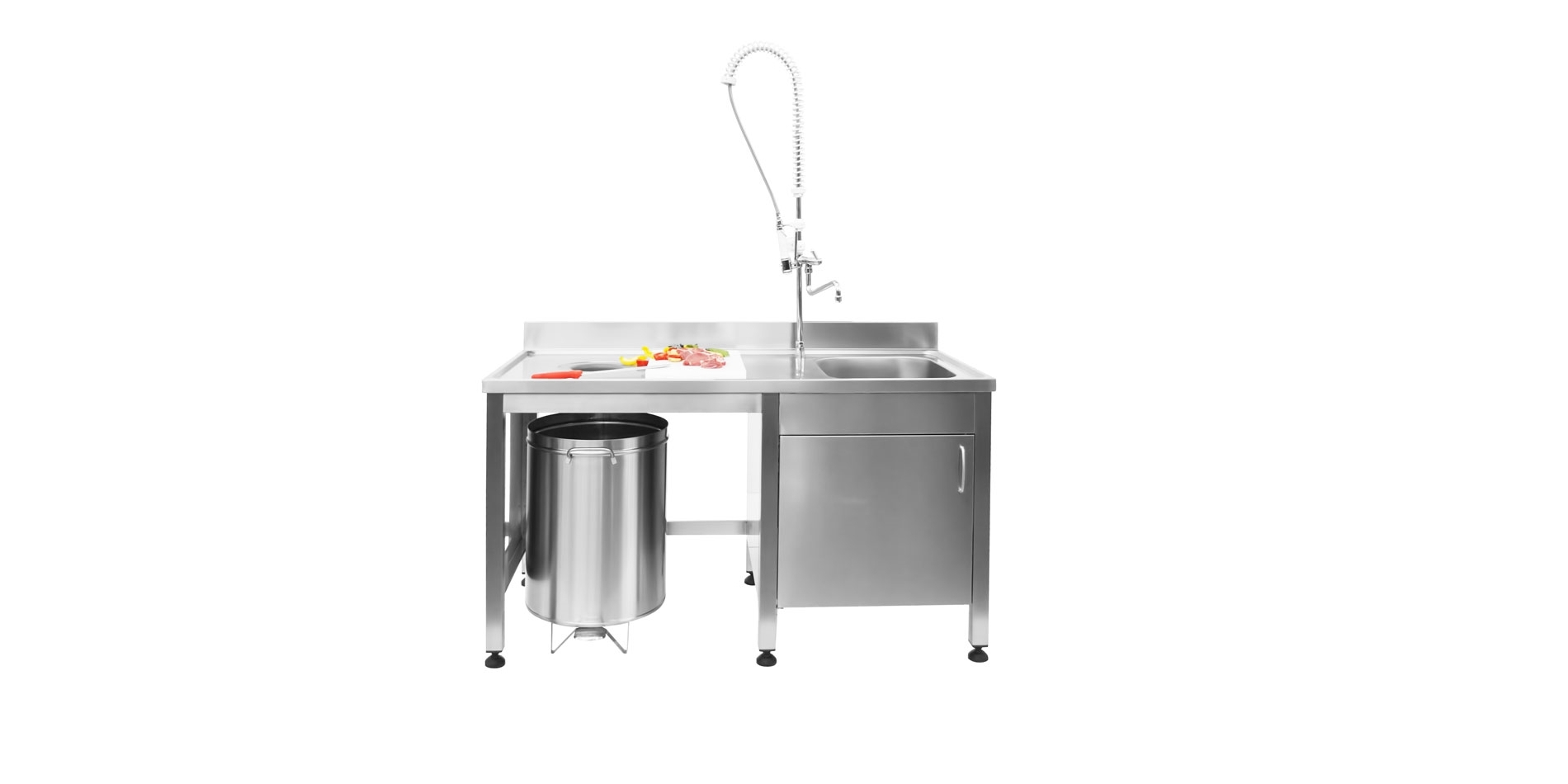 Lavelli Ad Angolo Misure lavelli professionali in acciaio inox - scaminox