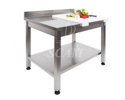 Tavolo aperto piano con alzatina