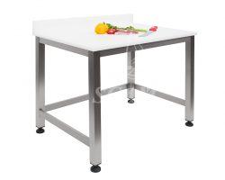 Tavolo aperto piano polietilene senza sottopiano